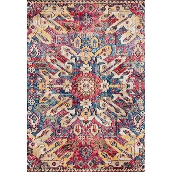 """Lux Weavers 2952 Beige Oriental 8 x 10 Area Rug - 7'10"""" x 10'6"""""""