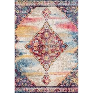 "Lux Weavers 2946 Gray Oriental 5 x 7 Area Rug - 5'2"" x 7'2"""