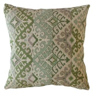 The Pillow Collection Xava Ikat Decorative Throw Pillow