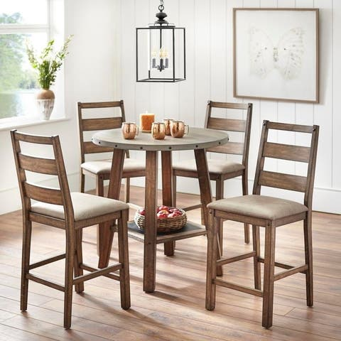 Simple Living Elenora Counter Height Dining Set