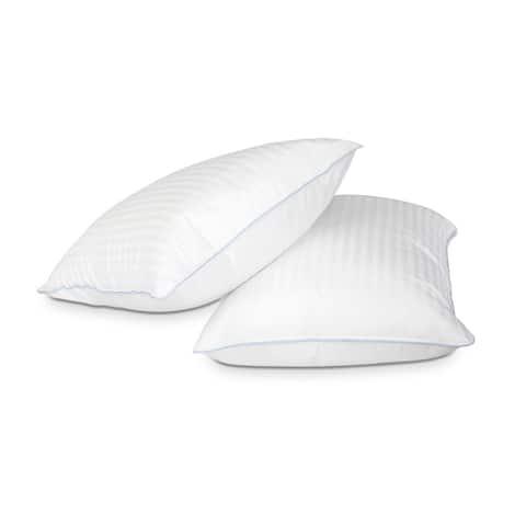 Kotter Home Density Pillows - Set of 2 - White
