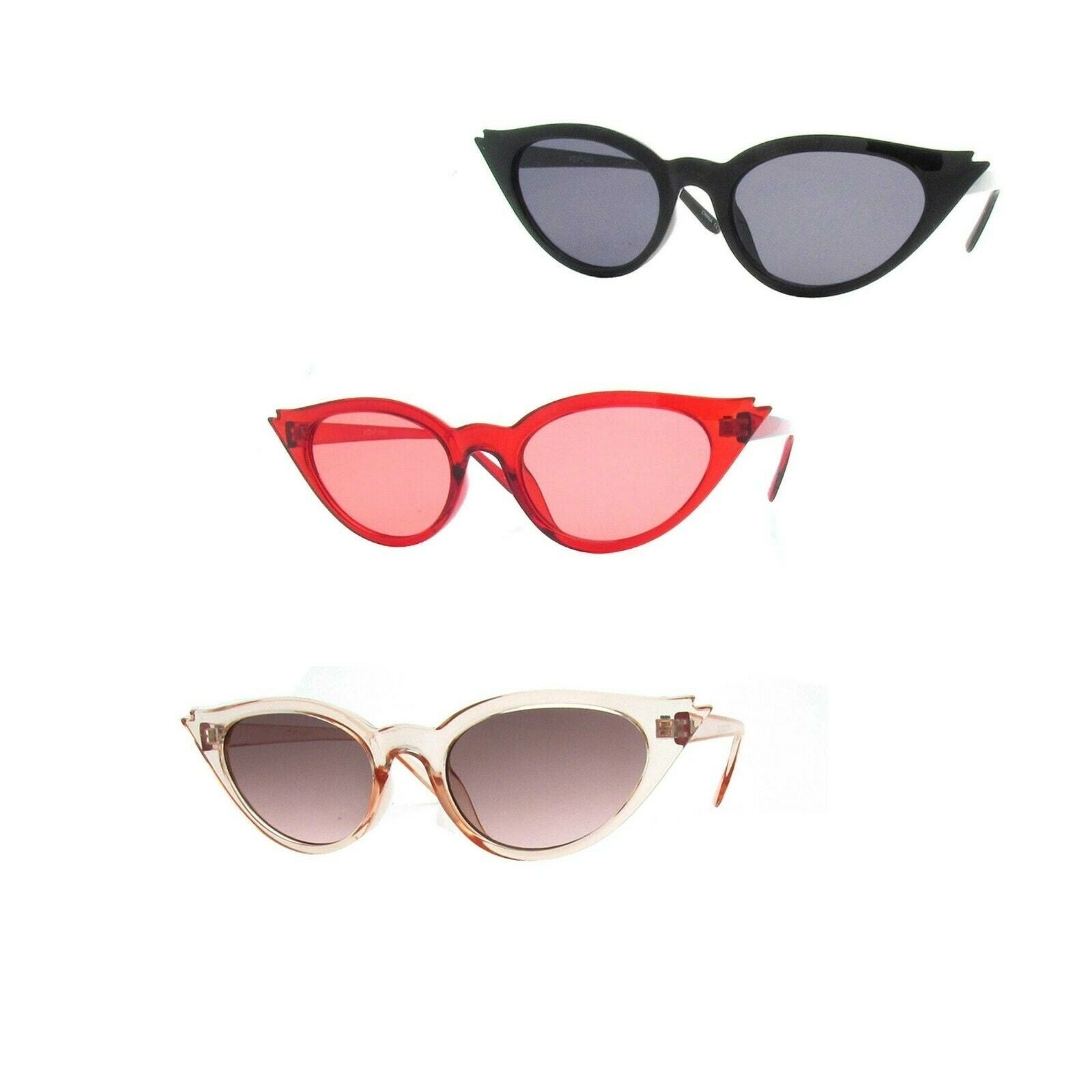a713fa637 Shop Women Retro 1950s Cat Eye Sunglasses P2457 - Free Shipping On Orders  Over $45 - Overstock - 27565298