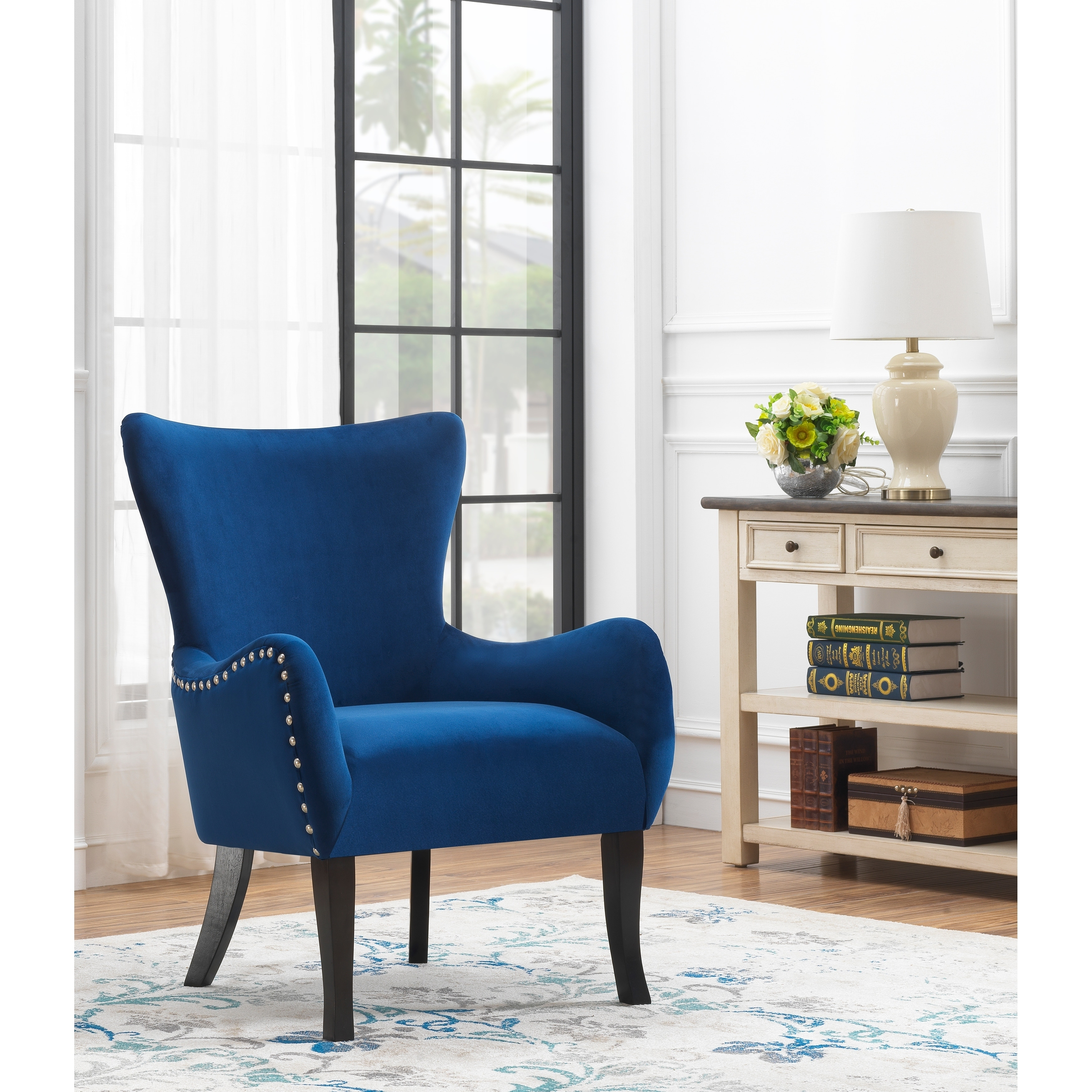 Fine Somette Wingback Accent Chair Gamerscity Chair Design For Home Gamerscityorg