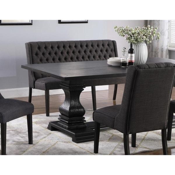 Shop Best Master Furniture Upholstered Loveseat Bench