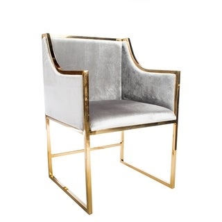 Statements By J Erin Gold Dining Chair , 34 Inch Tall