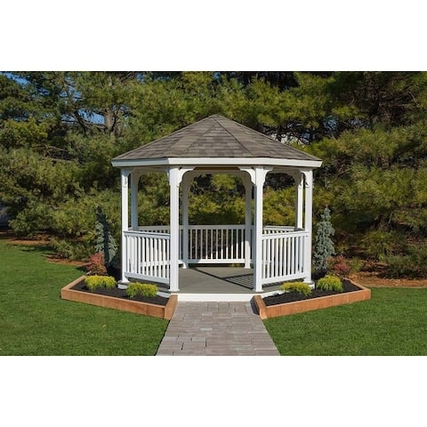 12' Vinyl Octagon Gazebo Kit