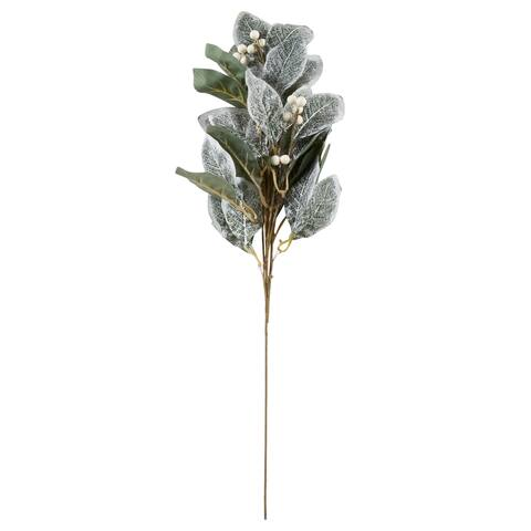 Saro Lifestyle Artificial Frosted Foliage Spray (Set of 12)