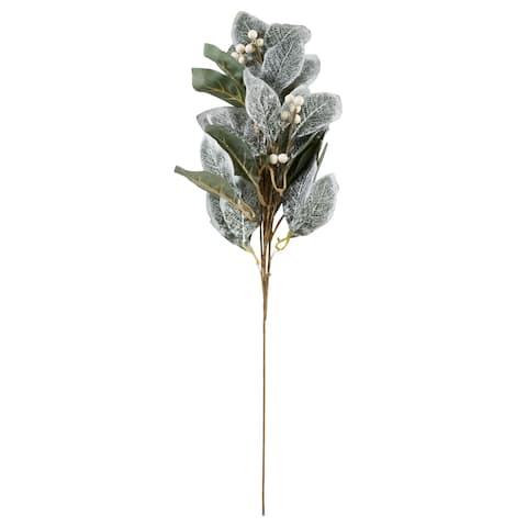 Saro Lifestyle Artificial Frosted Foliage Spray (Set of 12)
