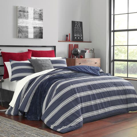 Nautica Craver Navy Duvet Cover Set