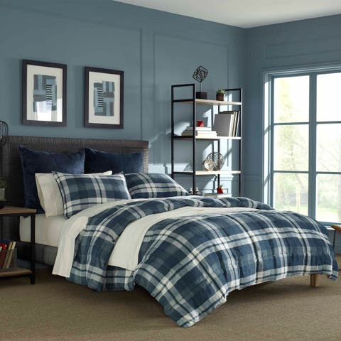 Nautica Crossview Blue Comforter Set