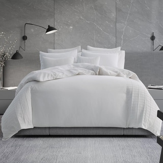 Vera Wang Linear Tucks Duvet Cover and Shams Sold Separately