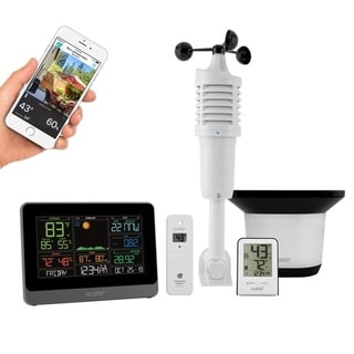La Crosse Technology C83100-INT Wireless WiFi Professional Weather Center with Remote Home Monitoring