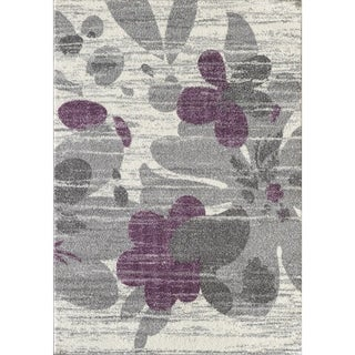 L'Baiet Amy Grey Floral Rug