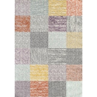 Link to L'Baiet Madison Multicolored Plaid Rug Similar Items in Rugs