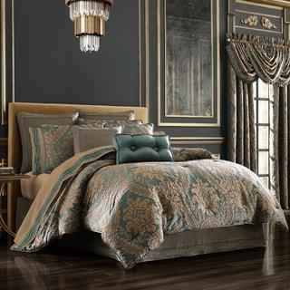 Gracewood Hollow Sijaric Emerald Jacquard Comforter Set