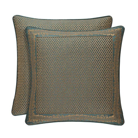 Gracewood Hollow Sijaric Emerald Luxury Euro Sham