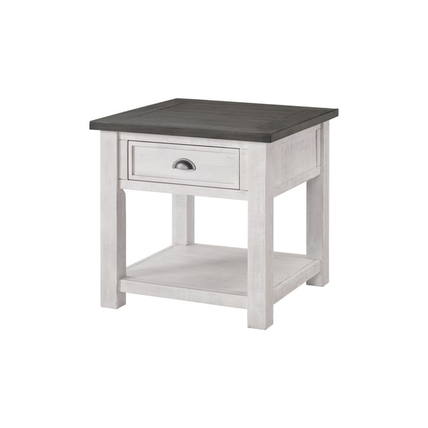 The Gray Barn Downington Solid Wood End Table