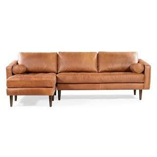 Strick & Bolton Landreth Left Sectional Sofa