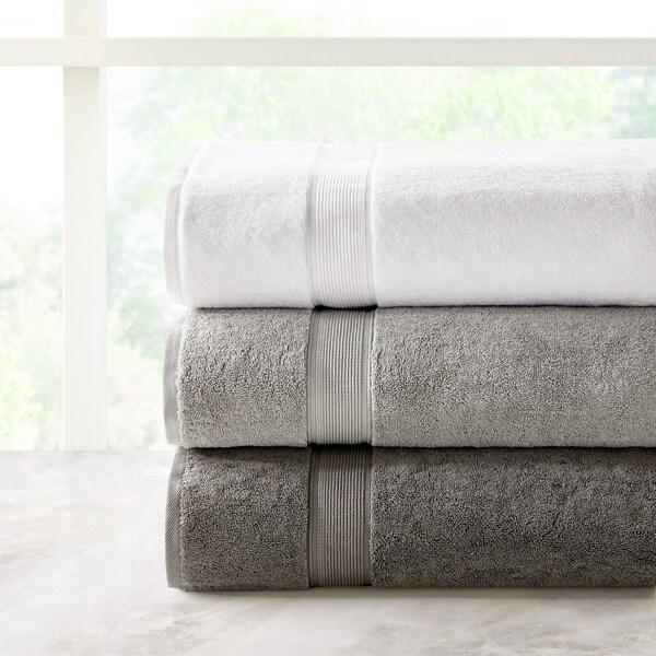 81cc3eaa0da7 Madison Park Signature 800gsm 100-percent Cotton Bath Sheet 2 Piece Set  3-Color