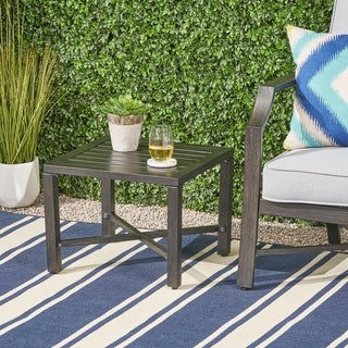 Christopher Knight Home Hillgate Outdoor Aluminum Side Table