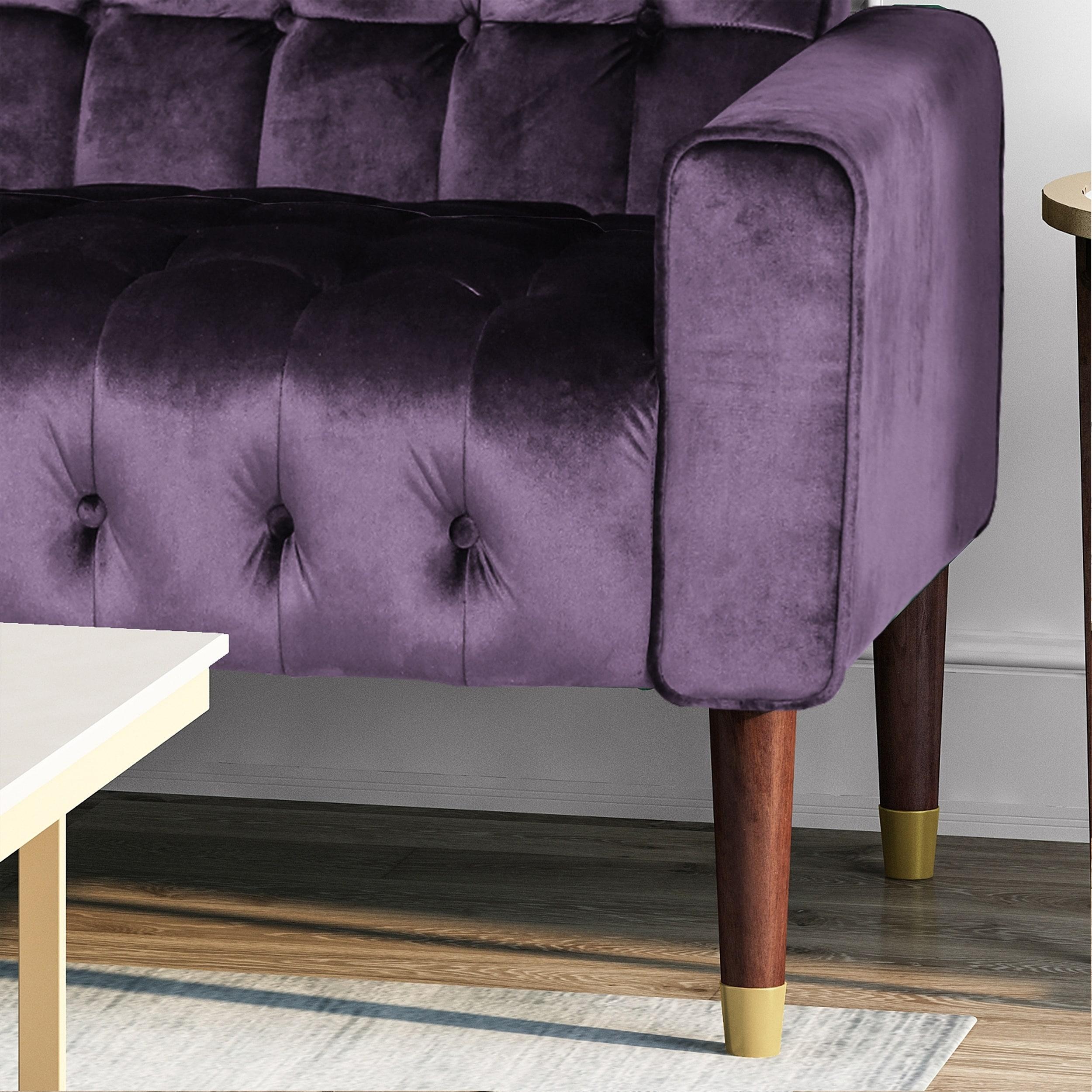 Velvet Sofa By Christopher Knight Home