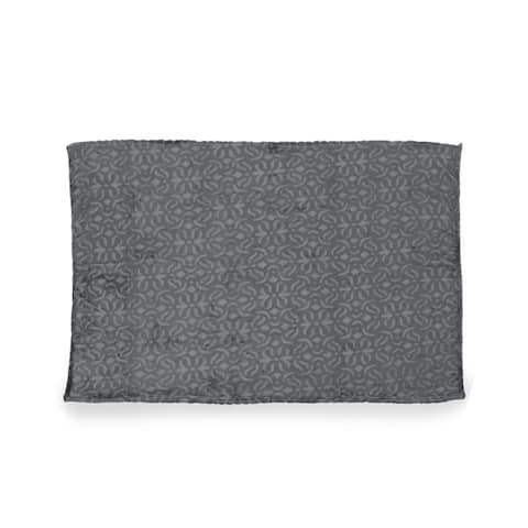 Fredonia Embossed Flannel Throw Blanket by Christopher Knight Home