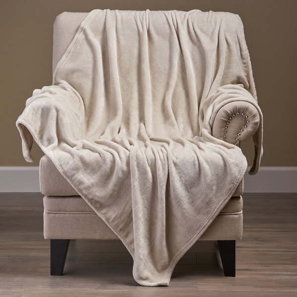 Alanton Flannel Throw Blanket by Christopher Knight Home. Opens flyout.