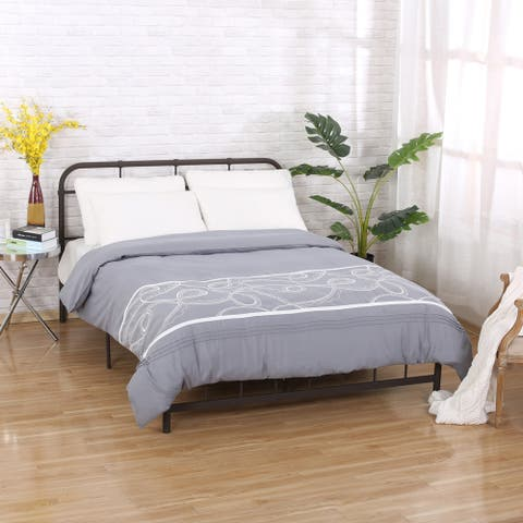 Boxwood Queen Duvet Cover by Christopher Knight Home