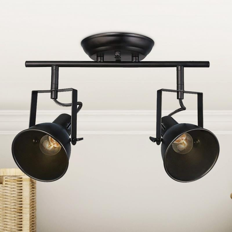 Reene Semi Flush Mount Track Lighting 2 Light Ceiling Lights