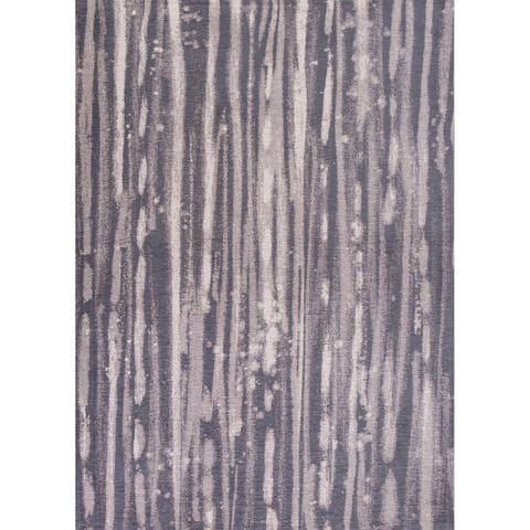 Domani Charcoal Transitional Area Rug