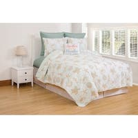Grand Turks Cotton Quilt Set