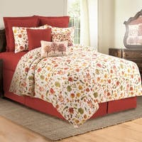 Watercolor Sketches Cotton Quilt Set