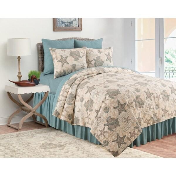 Amber Sands Cotton Quilt Set