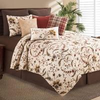 Autumn Bloom Cotton Quilt Set