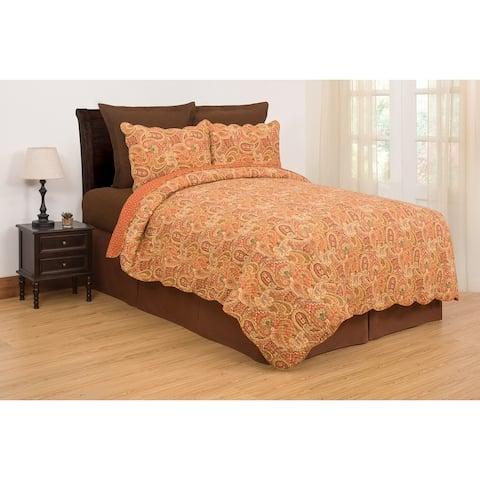 Tangiers Cotton Quilt Set