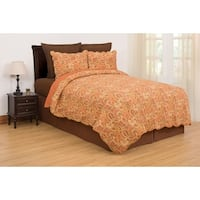 Tangiers Cotton Quilt Set