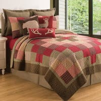 Huckleberry Sage Cotton Quilt Set