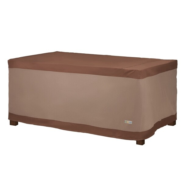 Shop Duck Covers Ultimate Rectangular Table Cover On Sale Free Shipping Today