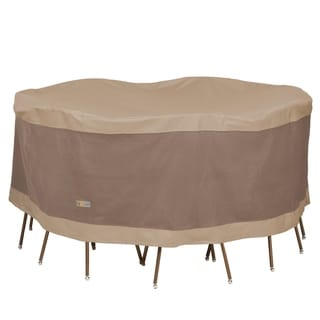 Link to Duck Covers Elegant Round Table and Chair Set Cover Similar Items in Patio Furniture