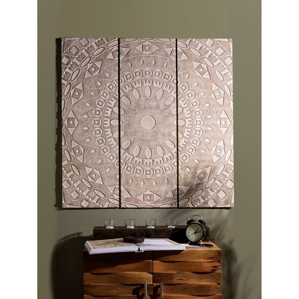 Aurora Home 3 Piece Decorative Wall Panel Set by Aurora Home