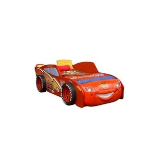 Disney McQueen Toddler LED-lighted Car Bed