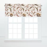 Autumn Bloom Window Valances (Set of 2)