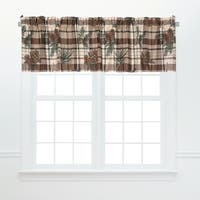 Lookout Lodge Window Valances (Set of 2)