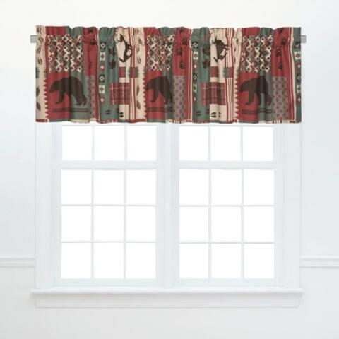 Killian Ridge Window Cotton Window Curtain Valances (Set of 2) - 15.5 x 72