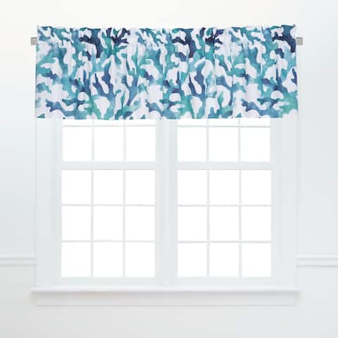 Aqua Reef Window Valances (Set of 2)