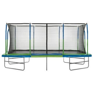 Upper Bounce - Rectangle Trampoline 10' X 17' - W/ Enclosure System