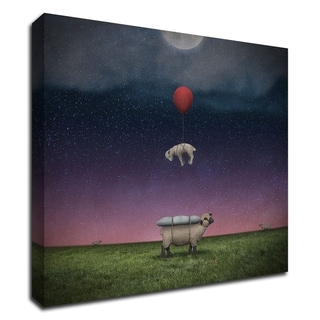 Soft Landing by Greg Noblin, Print on Canvas, Ready to Hang