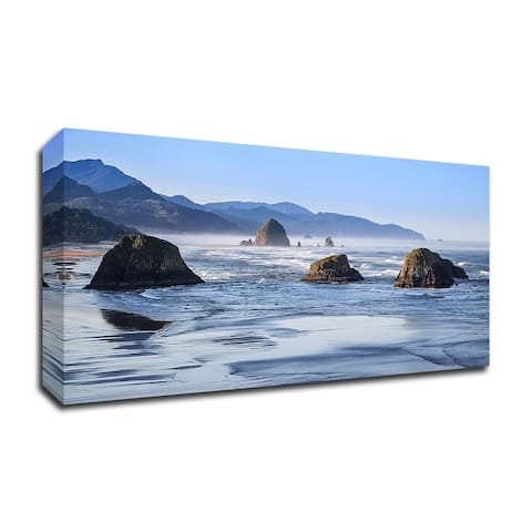 Cannon Beach by Michael Broom, Print on Canvas, Ready to Hang