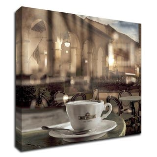Montepulciano Caffe #1 by Alan Blaustein, Print on Canvas, Ready to Hang