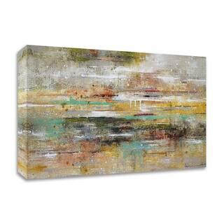 Porch & Den Ingeborg Herckenrath 'Oasis Reflection' Ready to Hang Canvas Print